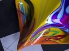 Colorful Race Car