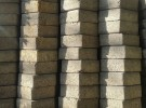 Stack of conblocks