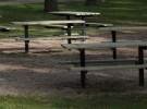 Empty picnic