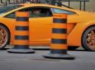 Alot of orange.