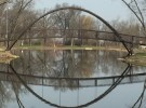 iron bridge reflections