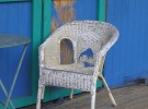 Porch Chair in Blue