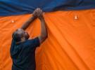 market tent