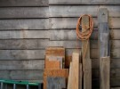 Wood with Ladder and Cord